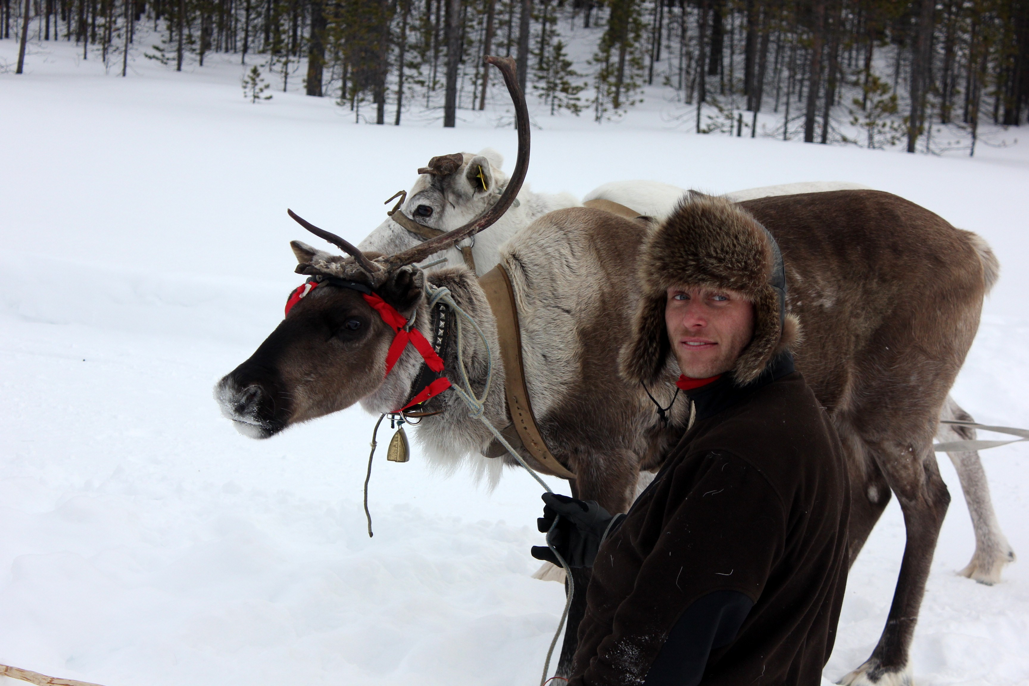 A sami man in murmansk