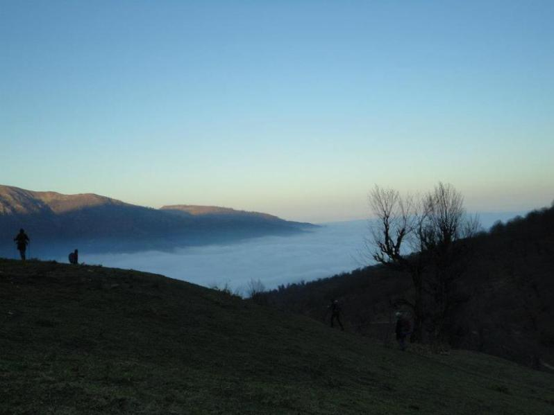 When clouds of Gilan