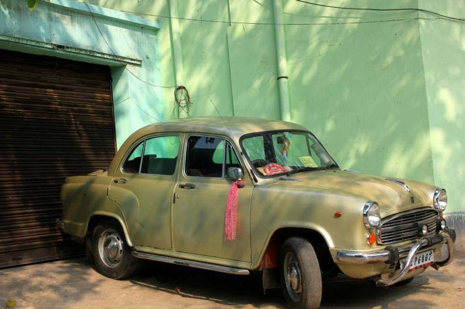amabassador taxi is a part of Calcutta memory