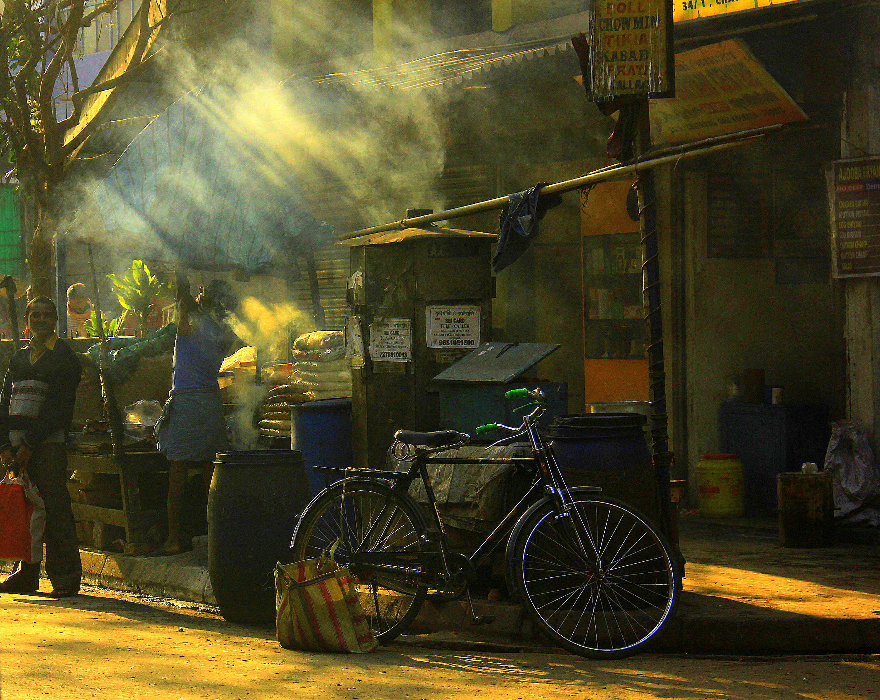 life in kolkata is about golden mornings