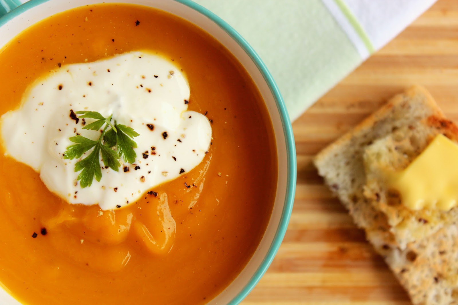 delicious pumpkin soup