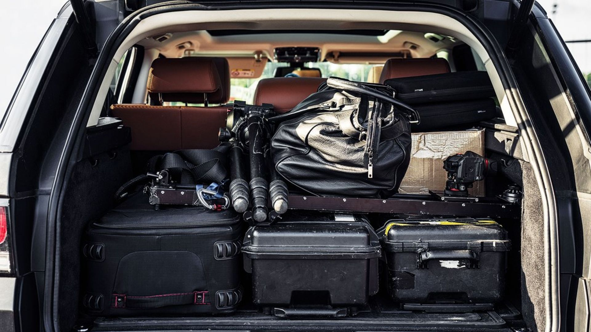 pack the car right when traveling with a baby