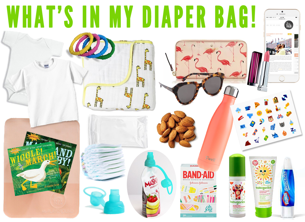 essentials items to carry when traveling with a baby