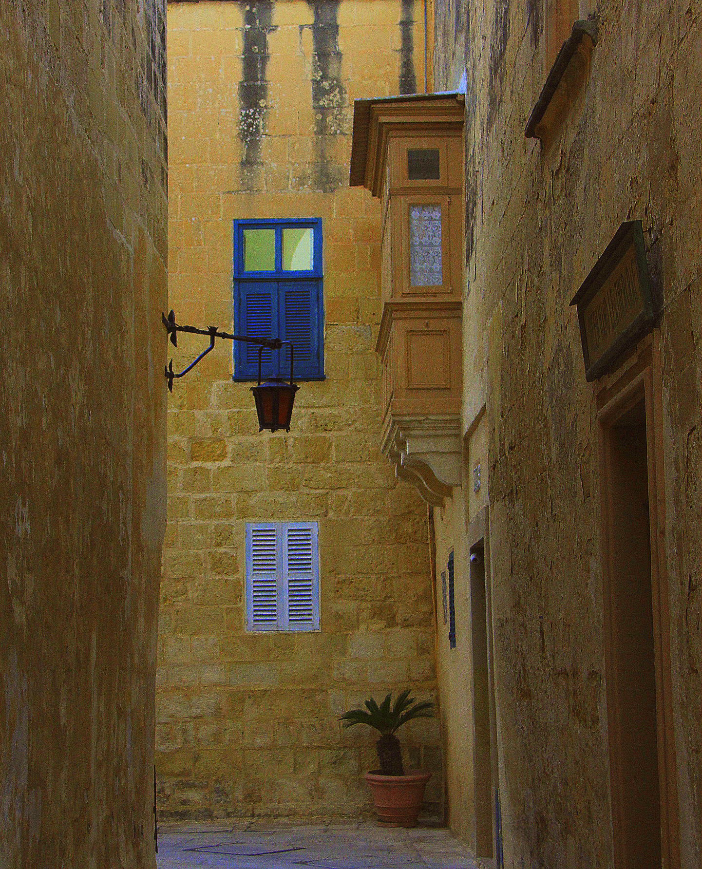 Mdina was overlooked by the Knights of Malta