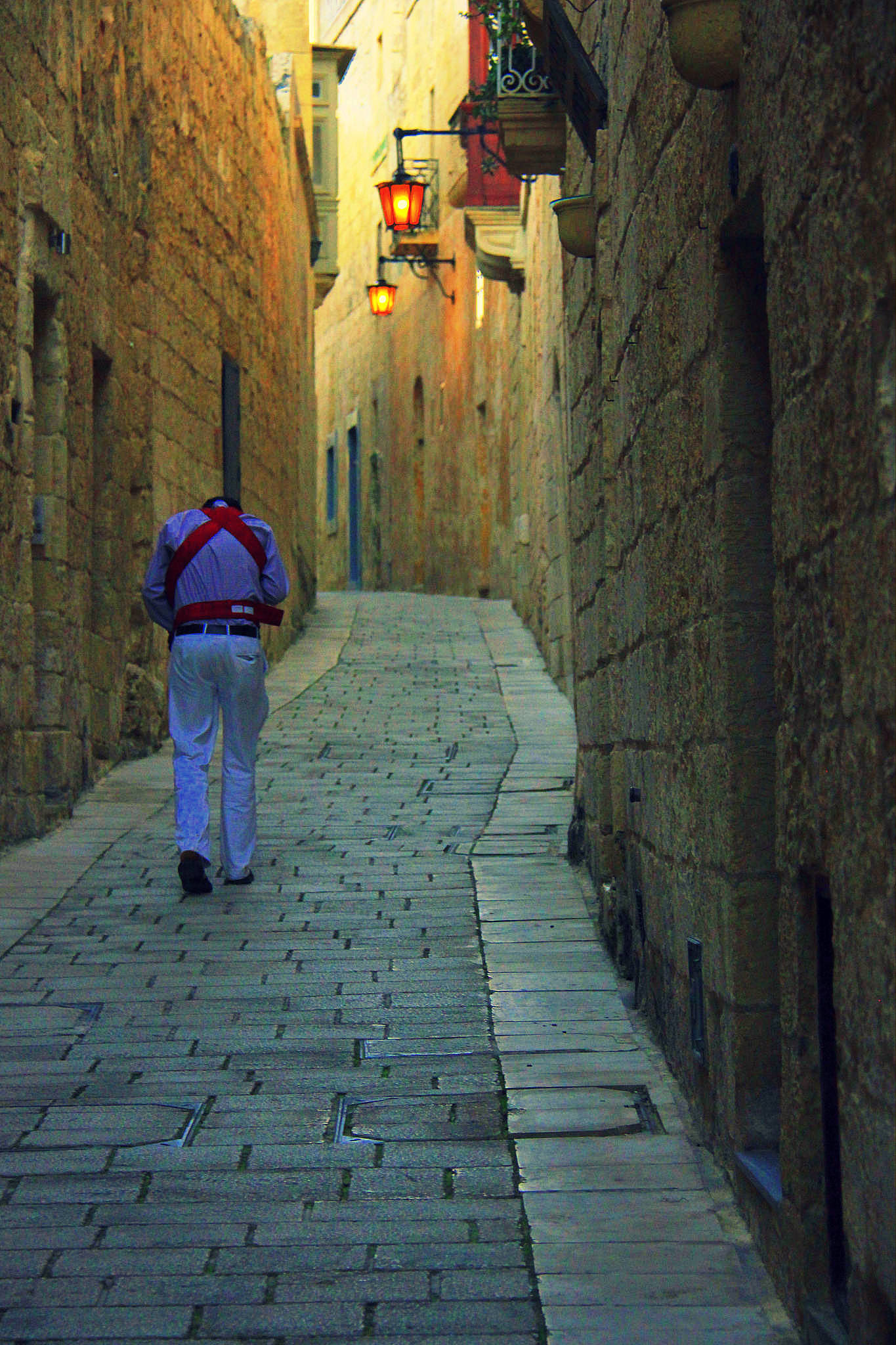 Mdina is best explored after sunset