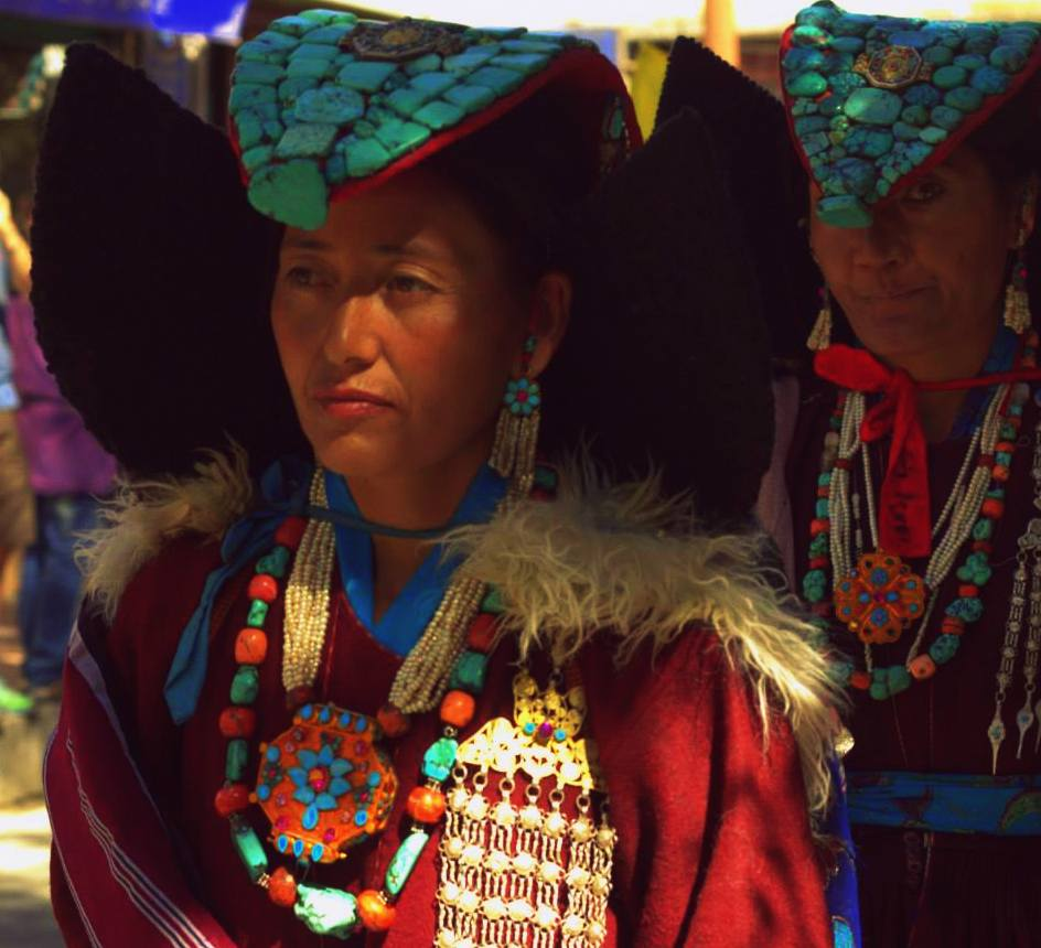 A performer at Ladakh Festival
