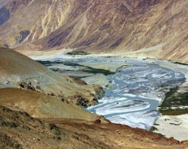 the first sight of nubra valley