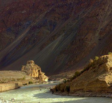 Reaching Ladakh by road from Kargil