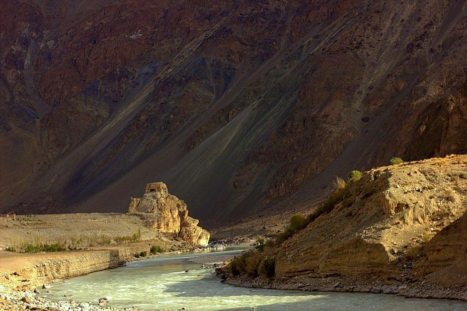 The journey to reach ladakh by road