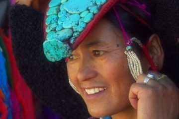 A performer at the Ladakh Festival