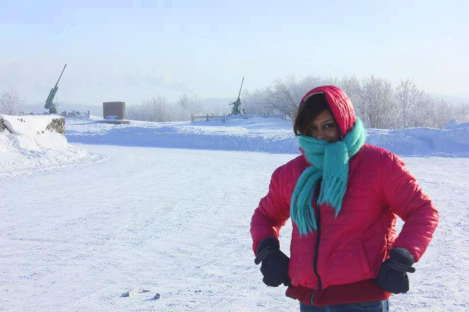 Snow holidays in arctic adventure in russia