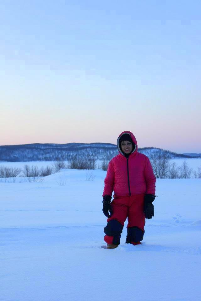 Murmansk and heavy snow during my arctic adventure