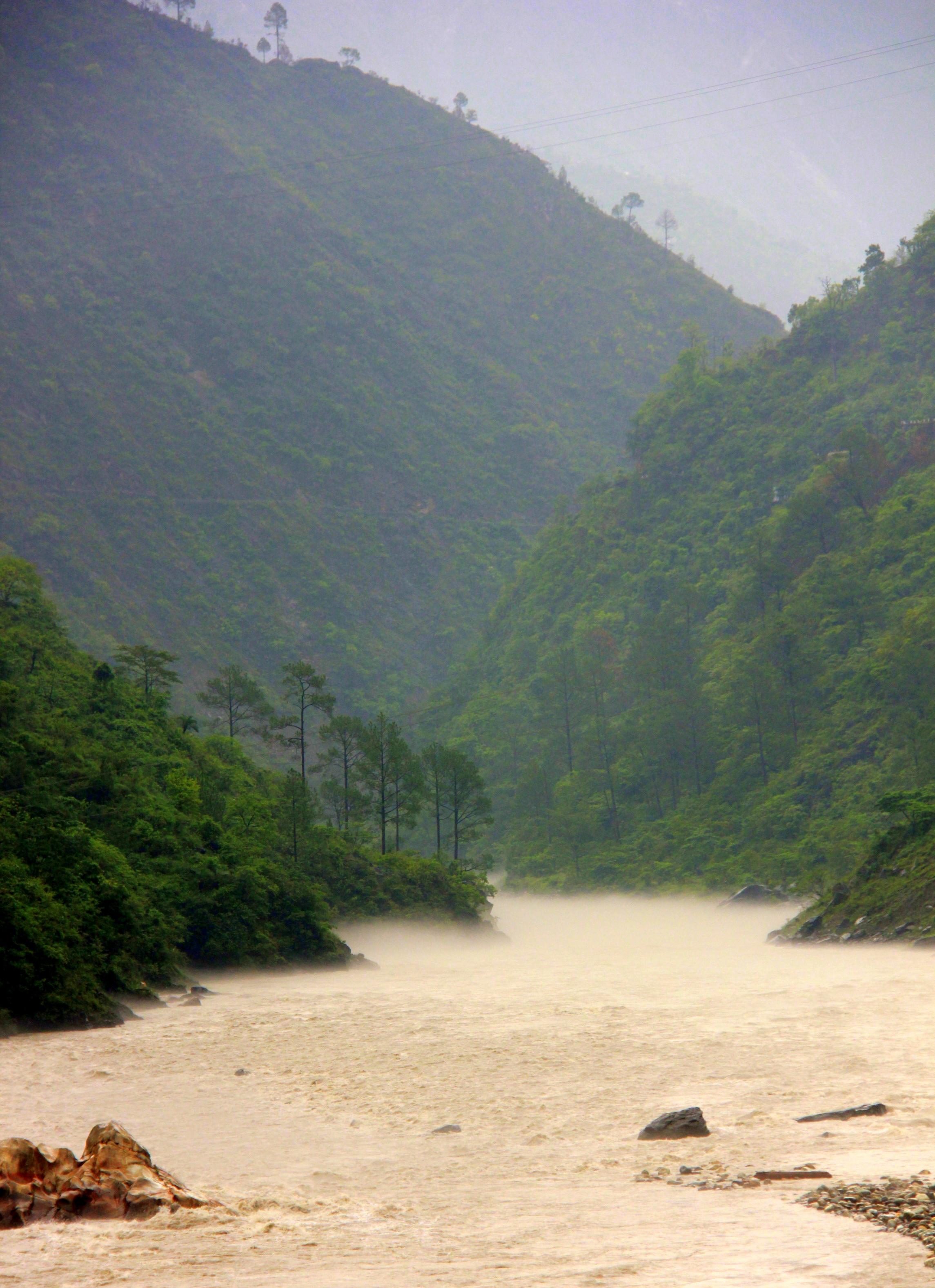 Uttarakhand prayags are misty and beautiful