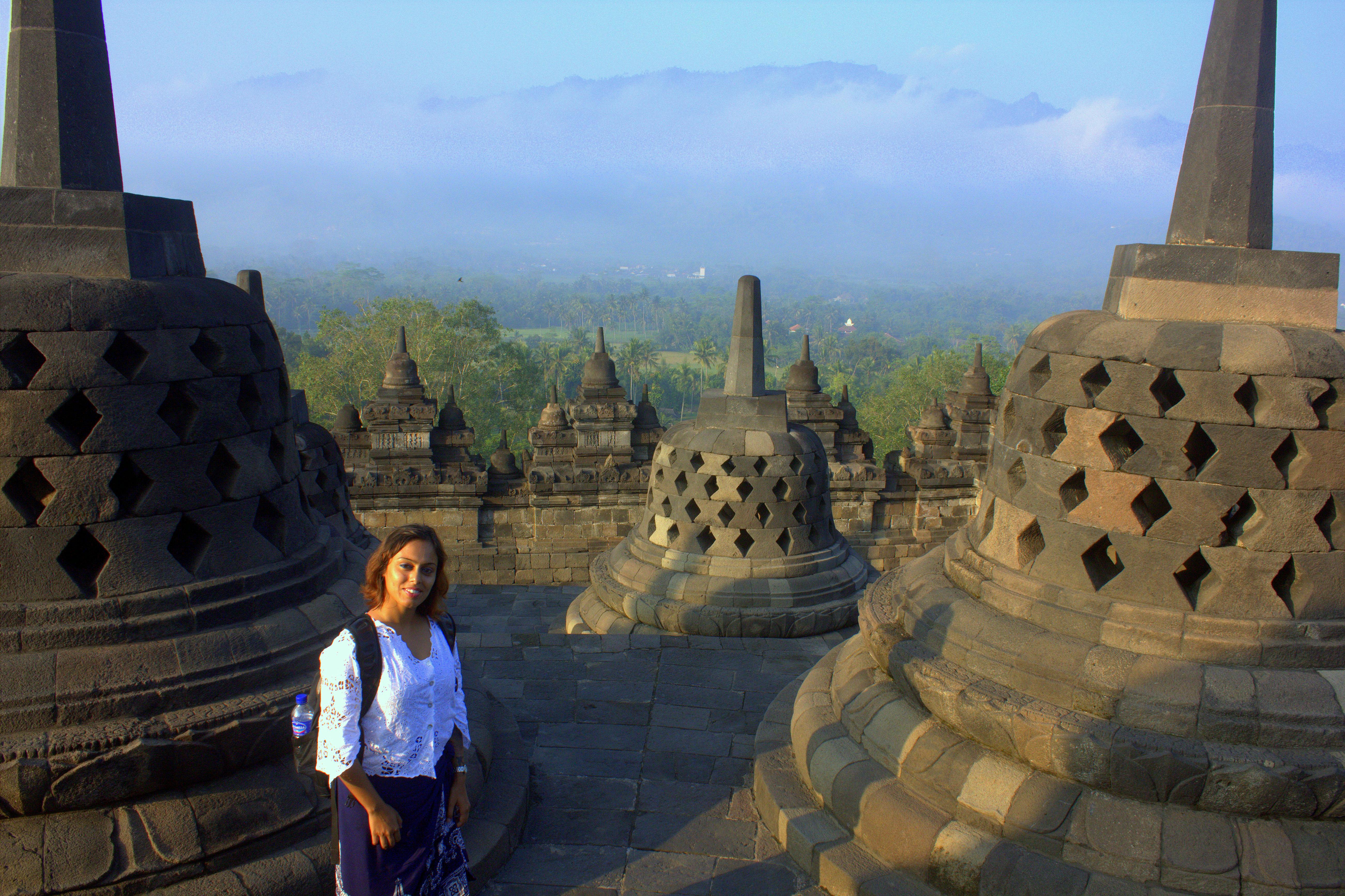 borobodur is in java in indonesia