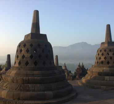 A Borobudur sunrise