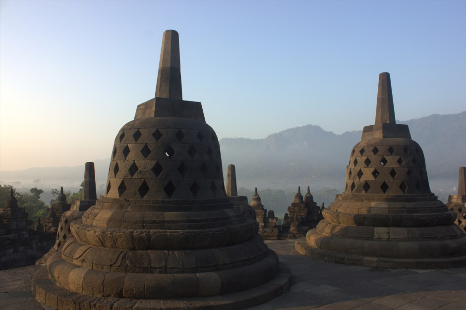 #Indonesia #Travelblog #Java #Borobudur