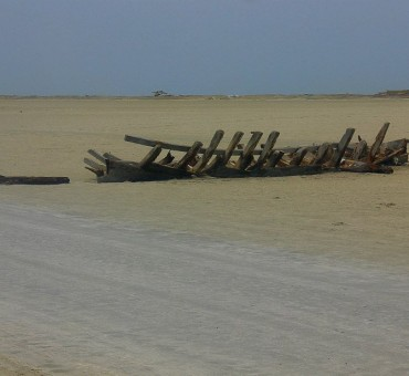 The broken bow of Pamban