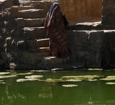 Green water of Hababa