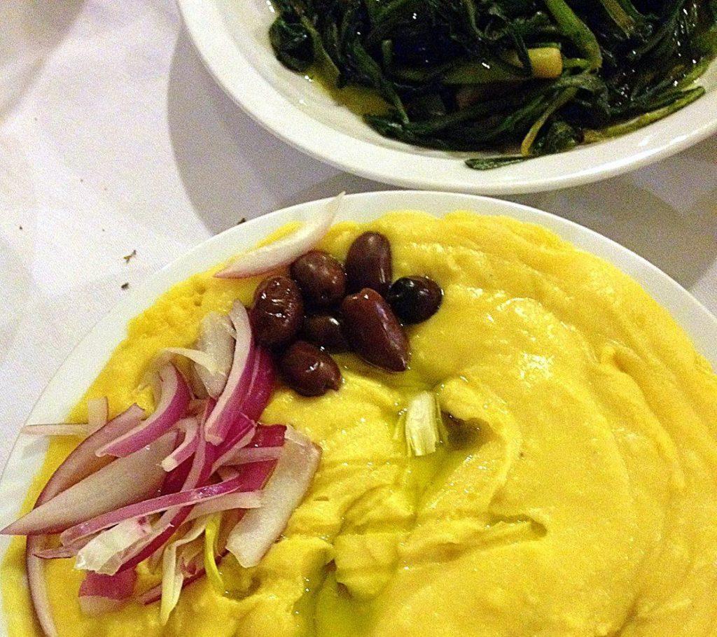 #Greece #Greekfood #horta #fava #travelblog #maverickbird