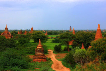 Bagan Myanmar has great natural beauty