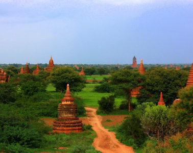 Bagan Myanmar has great natural beauty