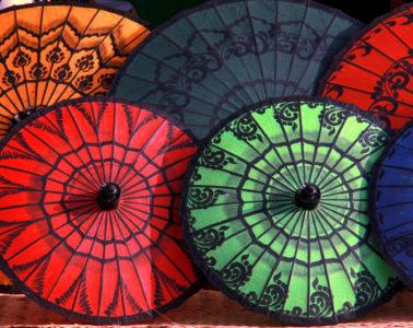 souvenirs for sale in bagan myanmar