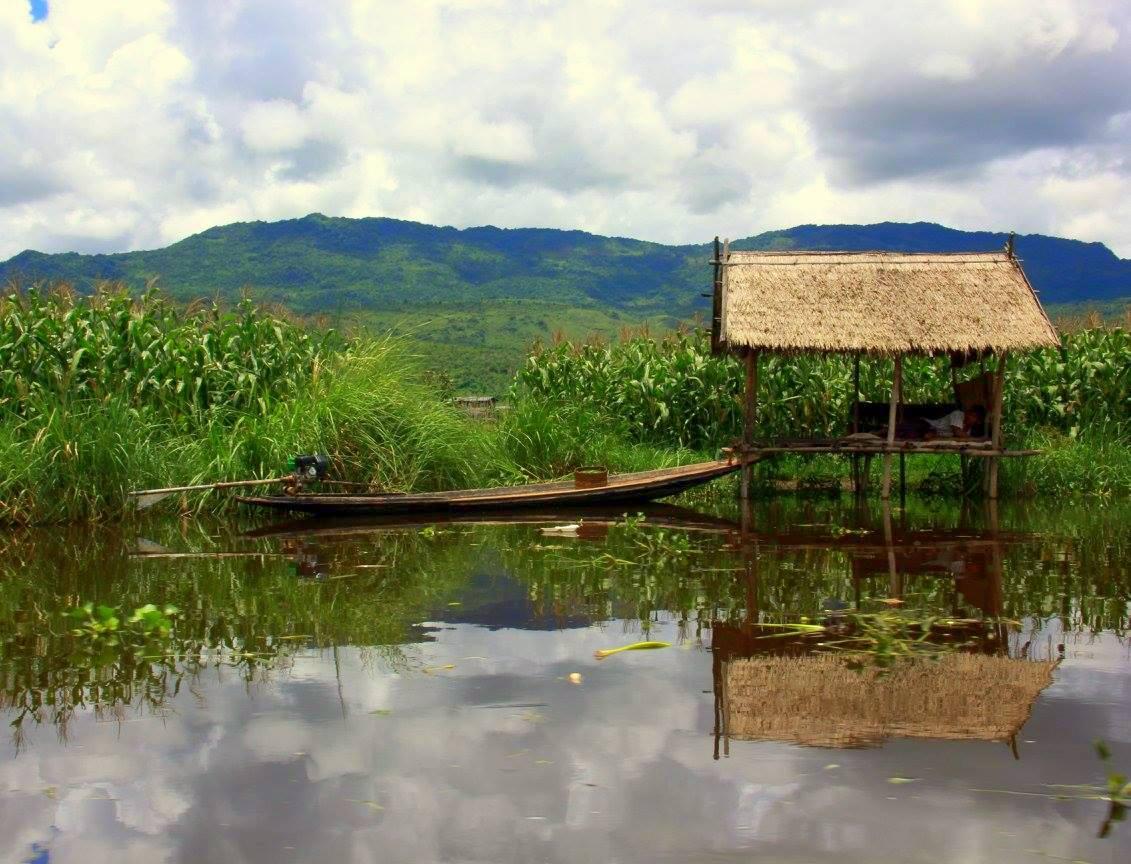 Samkar is perfect idyllic rural destination of Myanmar