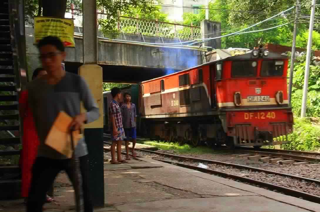 Don't miss the Yangon Circular Railway