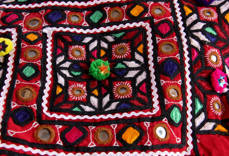 One of the samples of Kutch embroideries