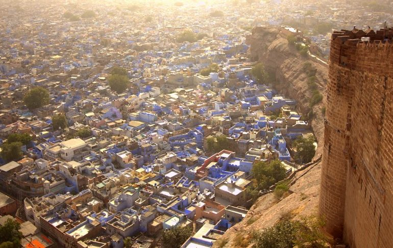 Beautiful blue Jodhpur