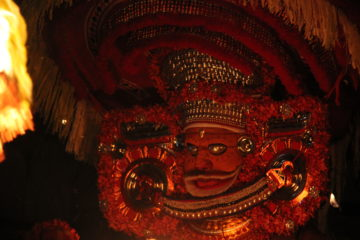 theyyam is the most intriguing of the art and culture of kerala