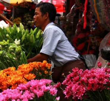 Downtown Yangon's colourful chaos