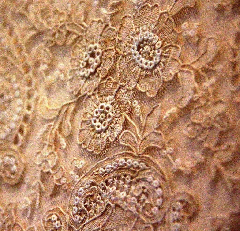 Brugge lace seen at Kantcentrum