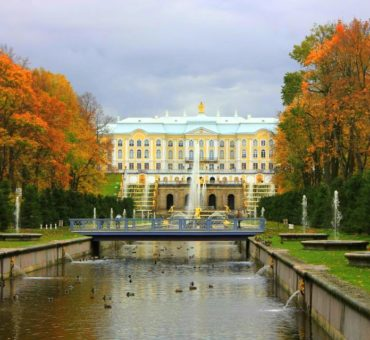 An autumn day in St Petersburg