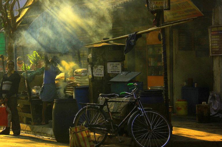 This is Brian's Calcutta not Kolkata