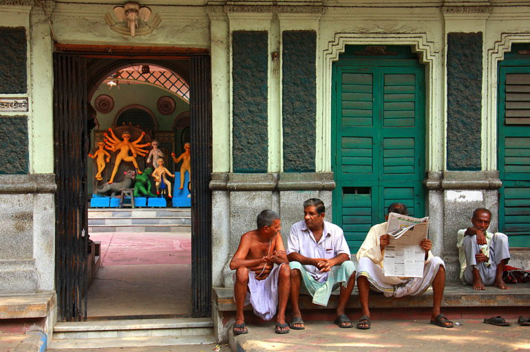 Calcutta through Brian's eyes