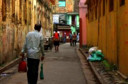 These are streets of Calcutta