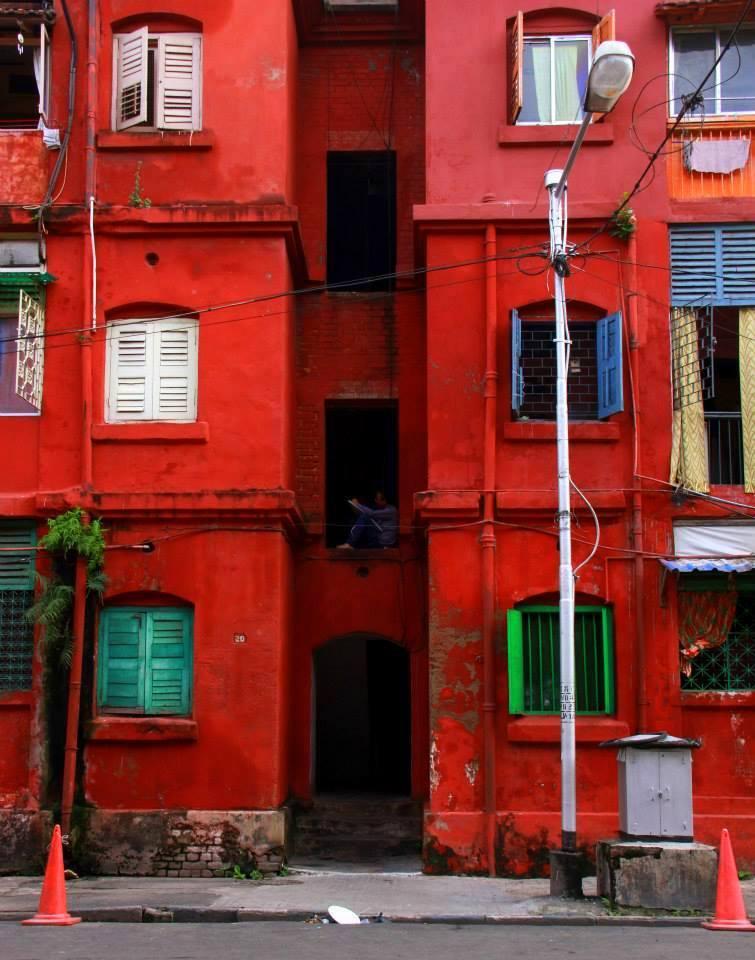 The iconic Bow Barracks of Calcutta