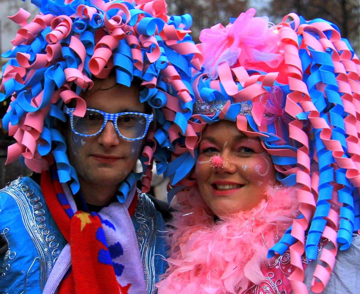 Cologne carnival costume