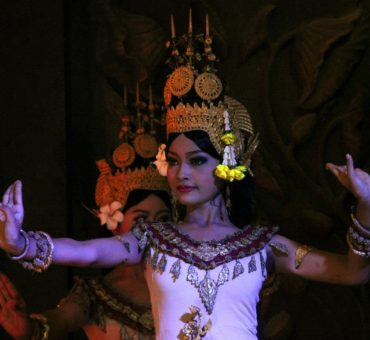 An evening with the apsaras at Siem Reap