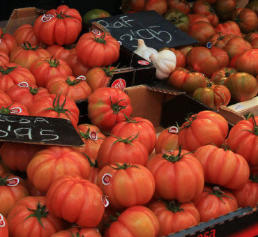 Visiting the Girona Food Market in Spain