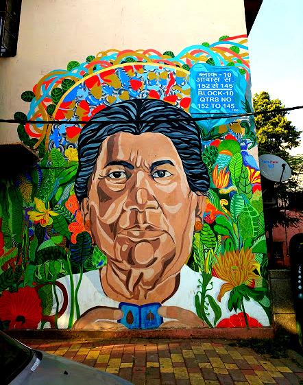 #ayandralidutta #travelbloggerindia #travelblogindia #streetartdel