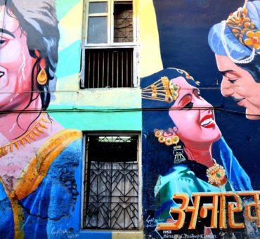 Writings on the walls in Mumbai