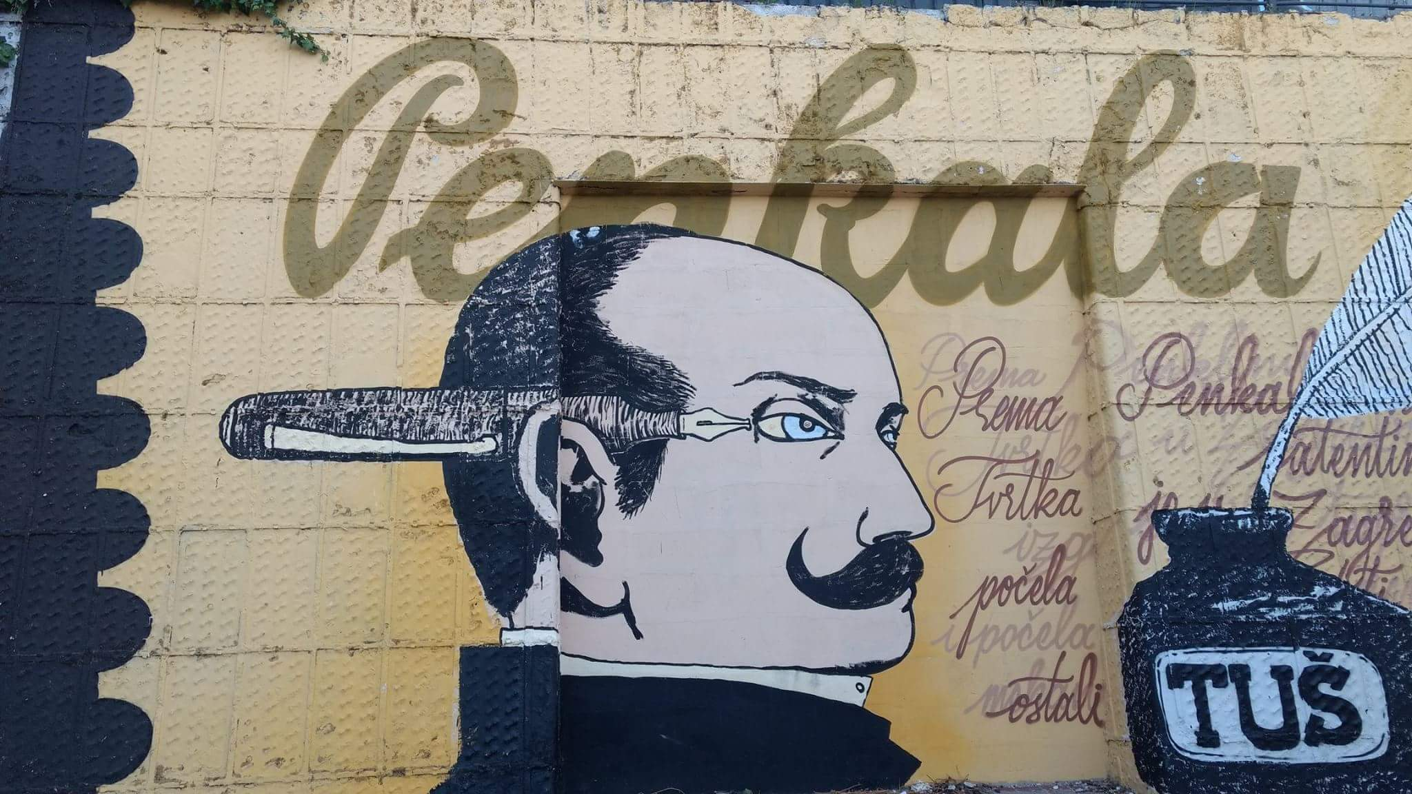 Zagreb street art celebrates the lesser known genius called Nikola Tesla