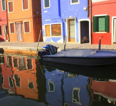 The lace and rainbow houses of Burano island