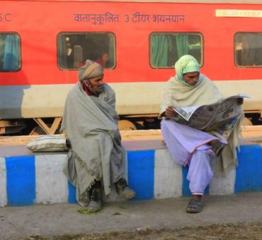 A train ride to rural Rajasthan