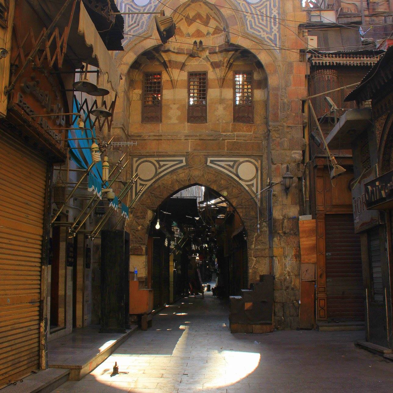 The old market of Cairo