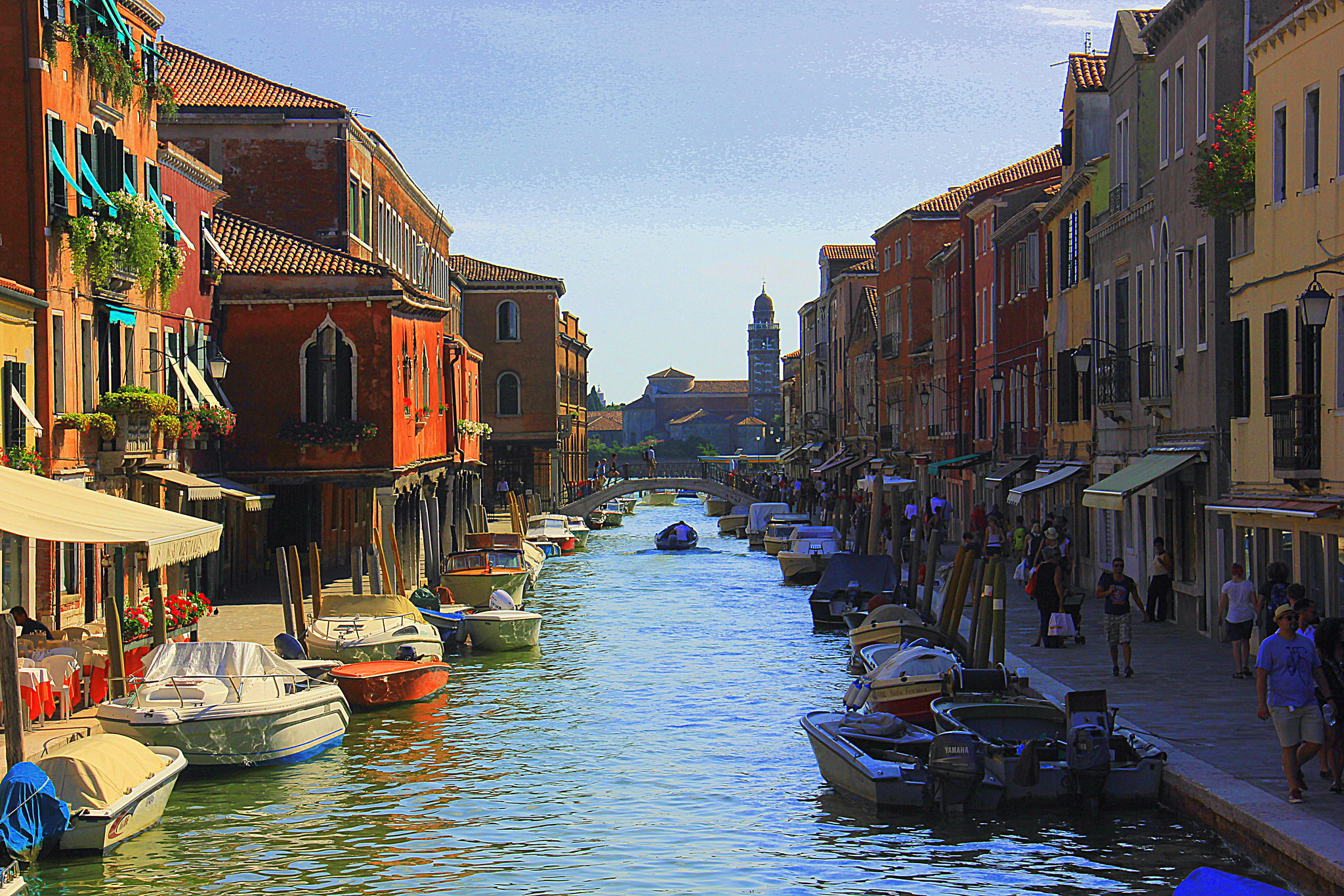 A beautiful view of Murano