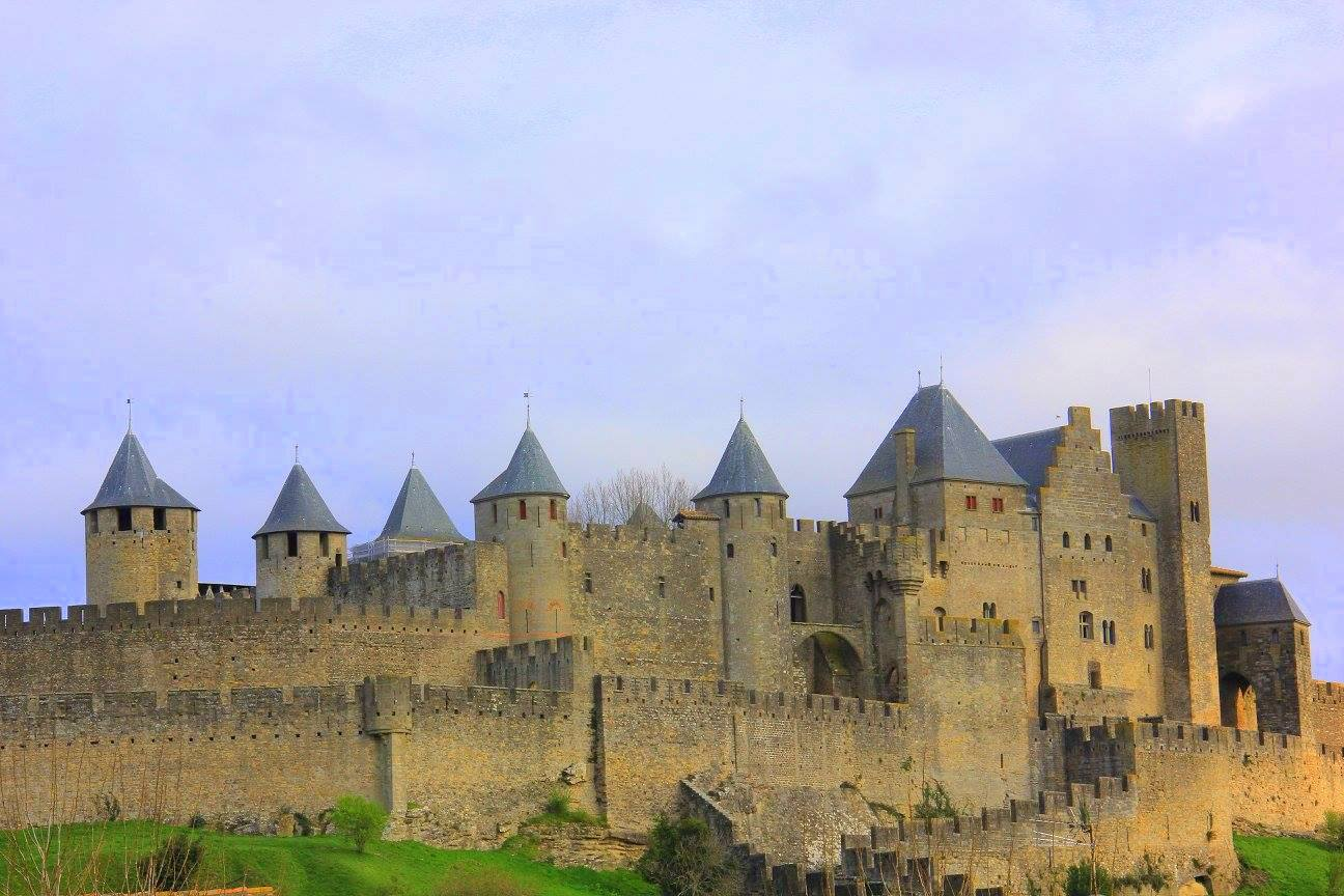 The fortified medieval town of Carcassonne