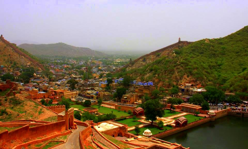 amer fort views from top